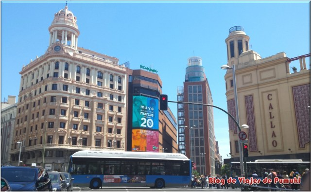 Plaza de Callao en Madrid