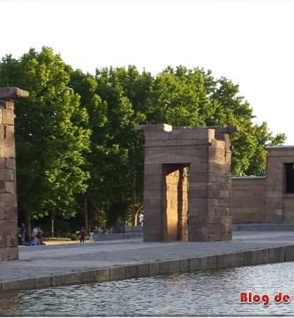 Templo de Debod, templo egipcio en Madrid