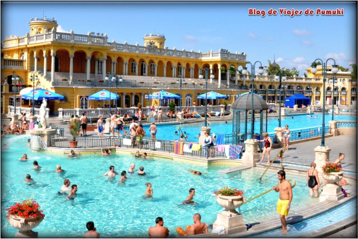 Balneario Széchenyi, uno de los mas conocidos balnearios deBudapest