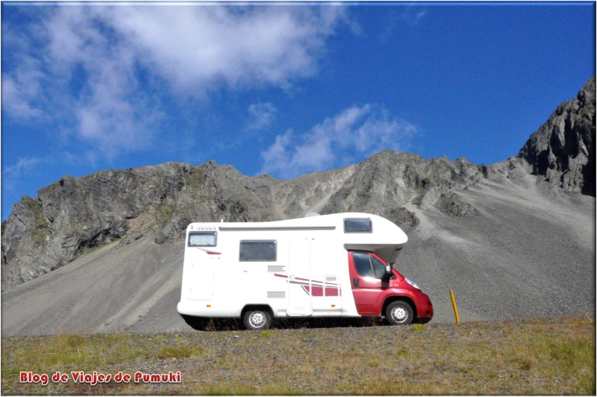 Autocaravana por Islandia