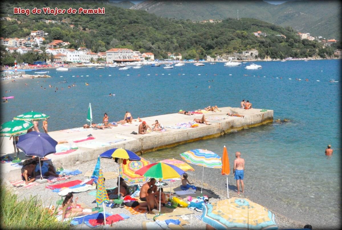 Playa en Herceg Novi