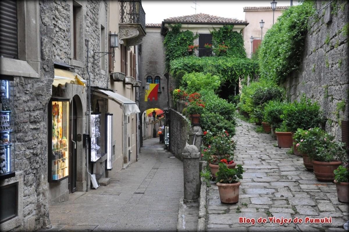Calles de San Marino