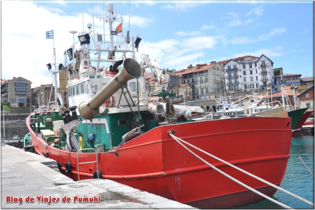 Puerto pesquero de Guetaría