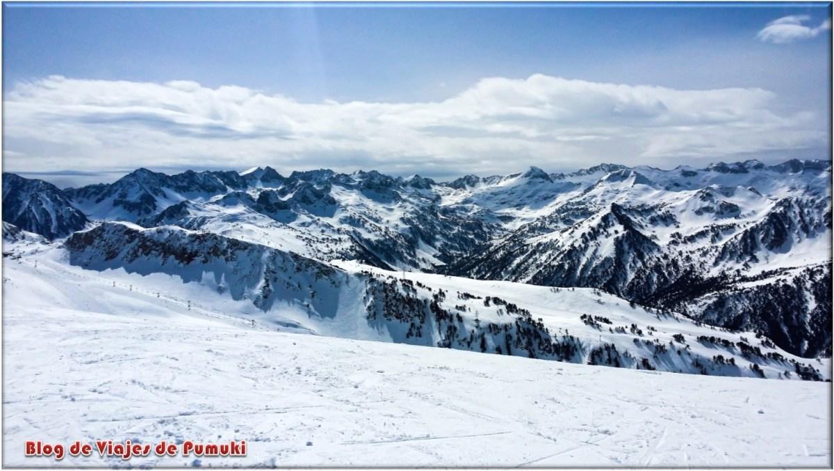 Montañas de Baqueira Beret