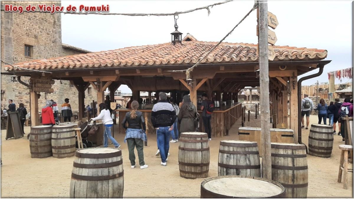 Arraval extramuros en Puy du Fou, Toledo
