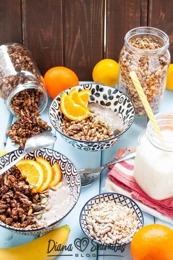 Chrupiąca granola