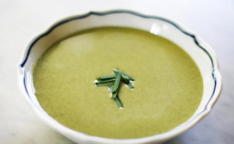 Sopa Cremosa de Espinafre