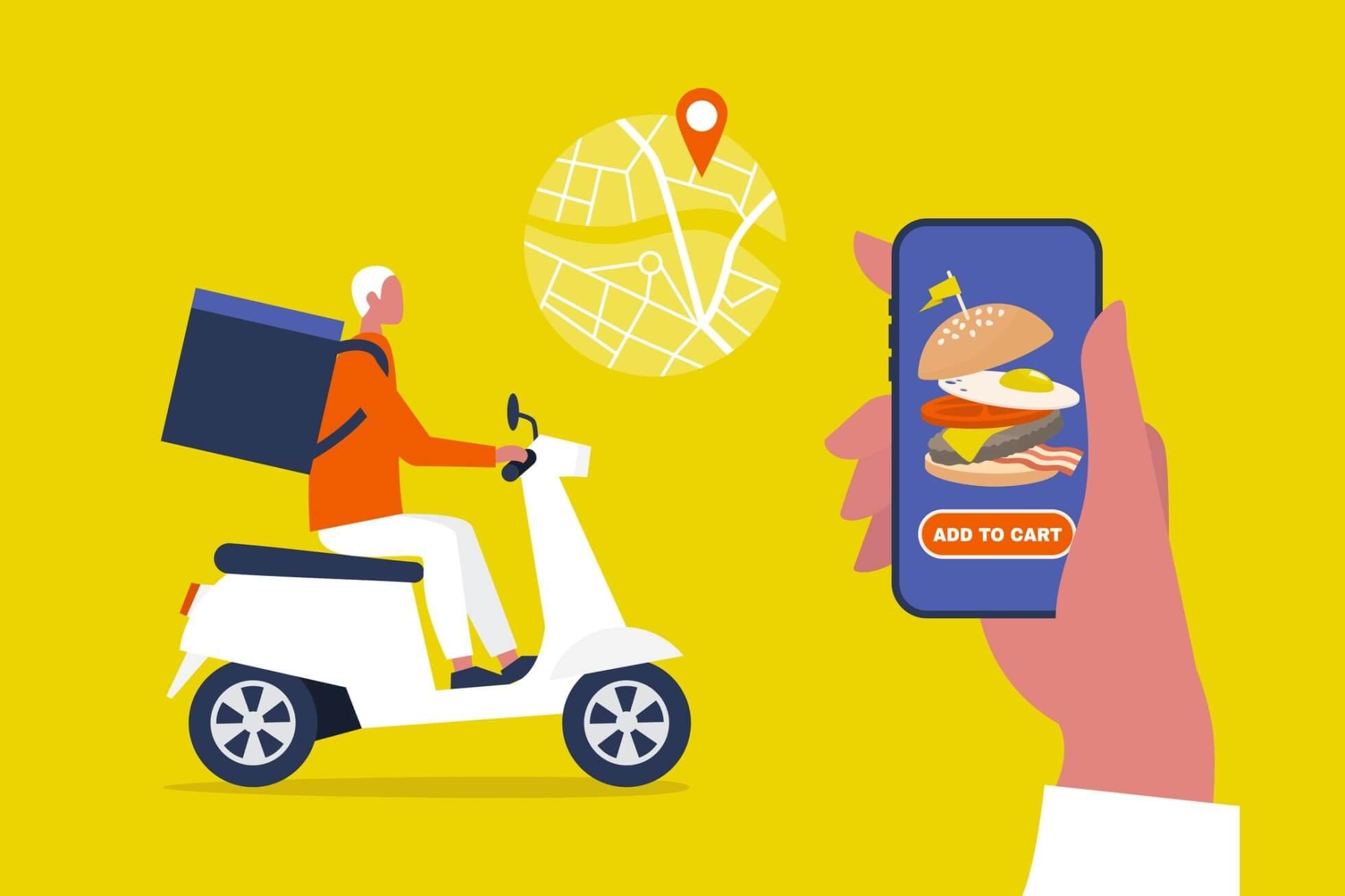 Veja alguns aplicativos de delivery para pedir comida pelo celular