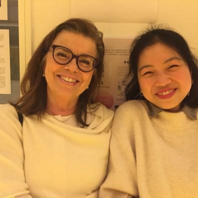 Besöksfamiljen Birgitta och studenten Ann