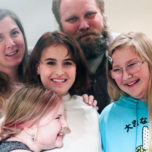 Gina och familjen Lundqvist