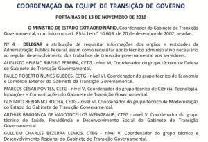 IMG 20181114 WA0124 300x205 - Julian Lemos é nomeado coordenador da equipe de transição do governo na Região Nordeste