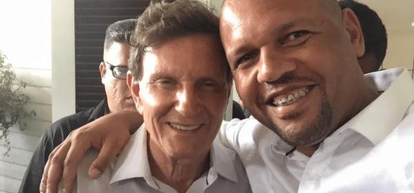 Marcelo Crivella e Douglas Manassés