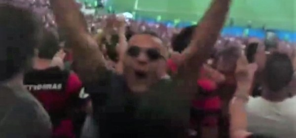Marcus Vinícius Neskau no Maracanã