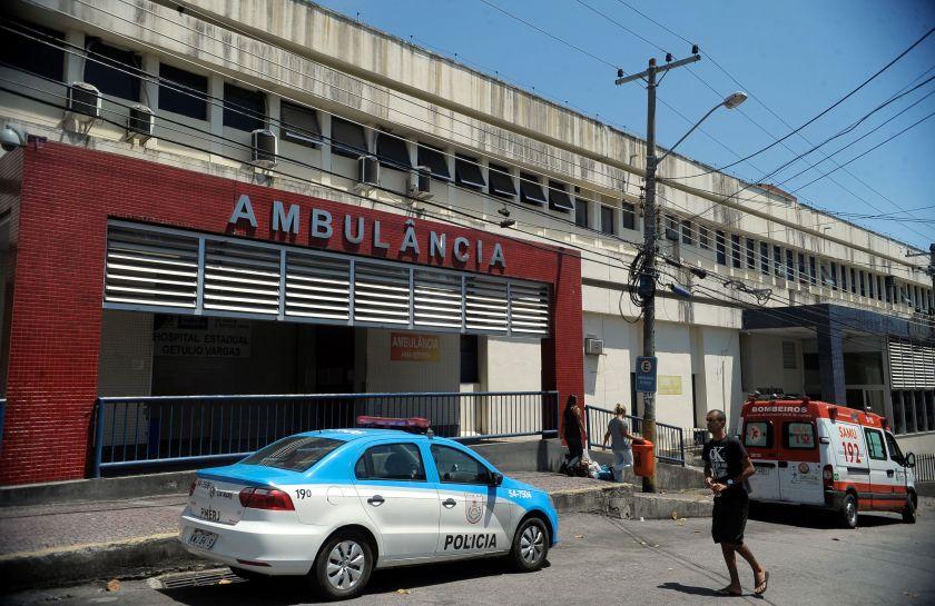 Hospital Getúlio Vargas, um dos geridos por Organizações Sociais no RJ