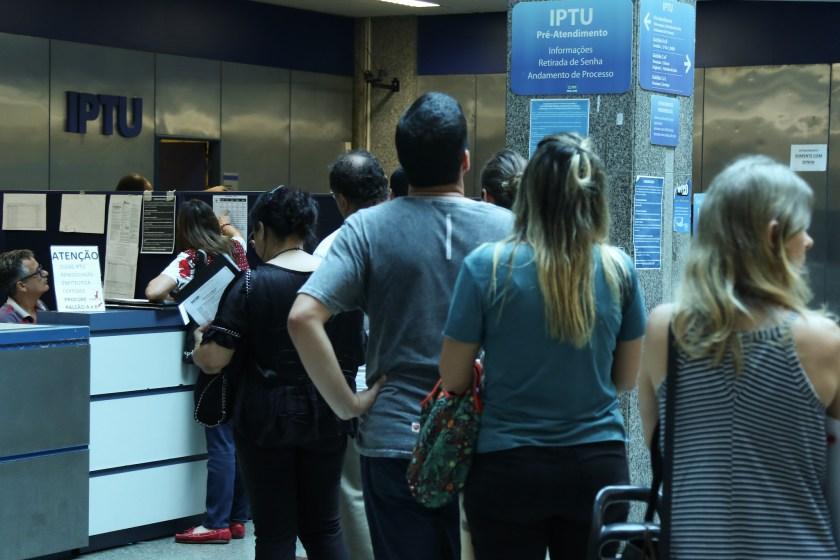 Pagamento de IPTU da prefeitura do RJ