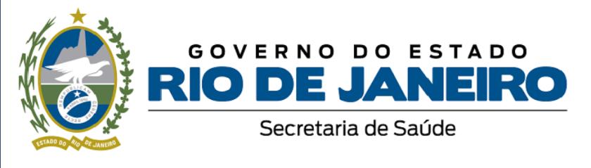 Logotipo da Secretaria estadual de Saúde do RJ