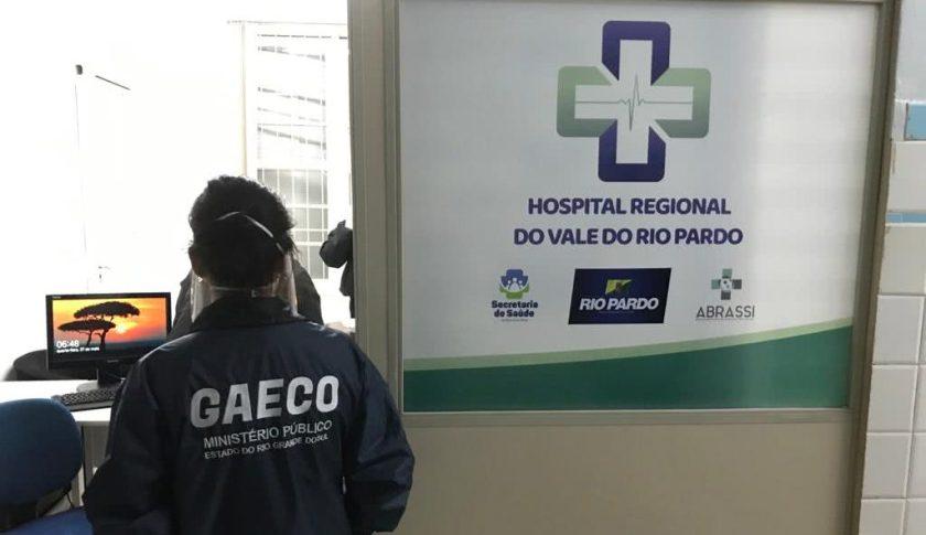 Operação em hospital de Rio Pardo (RS) termina com presos da OS Abrassi