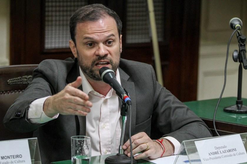Ex-deputado André Lazaroni, cujo ex-assessor tem parentes na Organização Social Inges