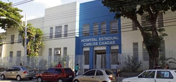 Hospital Carlos Chagas, que passou a ser administrado pela Fundação Saúde