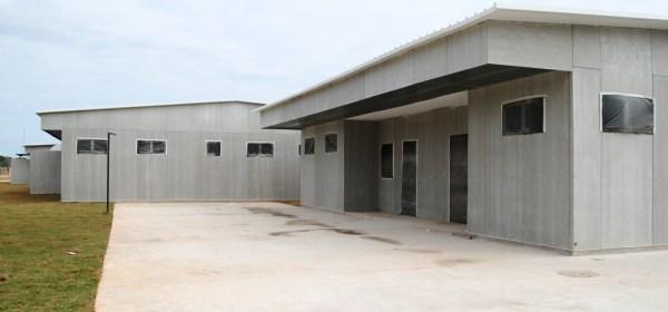 Hospital Modular de Nova Iguaçu, que segue fechado