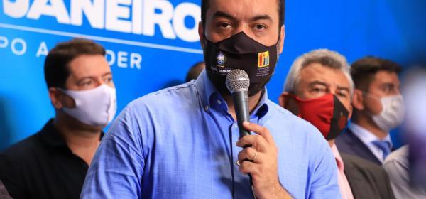 Governador Cláudio Castro é citado em delação de ex-secretário de Saúde Edmar Santos