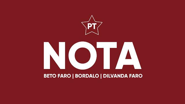 Blog do Bordalo nota bordalo beto dilvanda PT