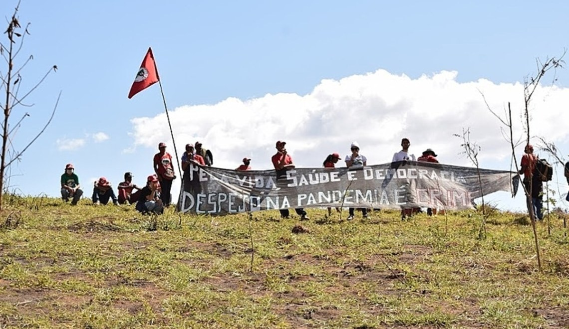 Blog do Bordalo Protesto contra despejo