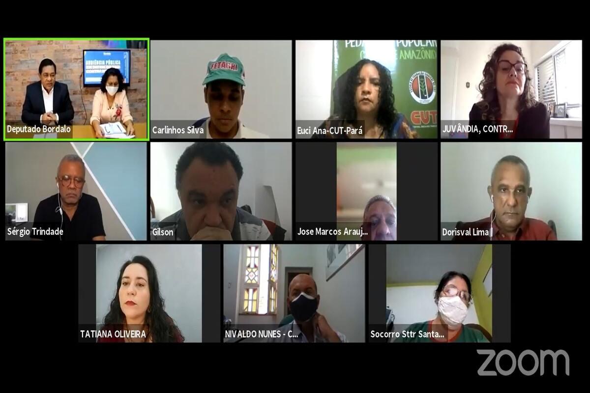 Bordalo realiza audiência pública em defesa do Banco da Amazônia
