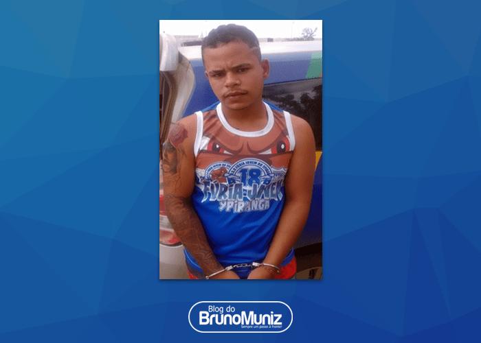 Indivíduo é detido em posse de uma motocicleta roubada em Santa Cruz do Capibaribe