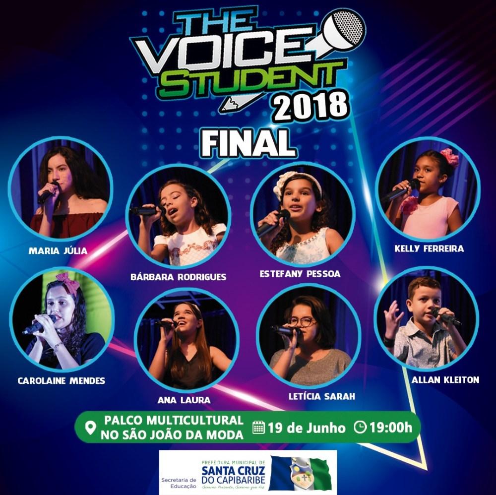 Final do The Voice Student 2018 tem data e local definido