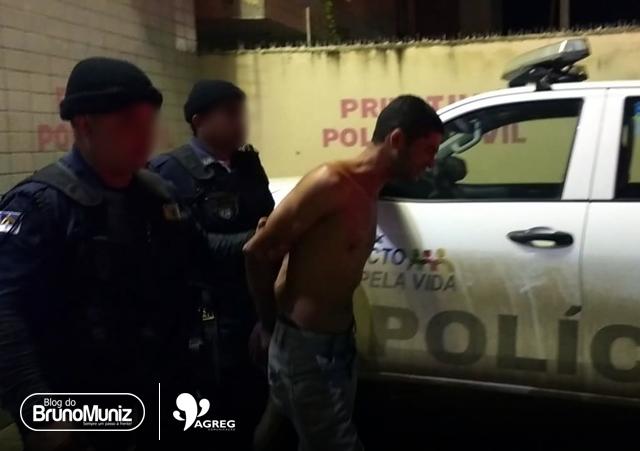 Jovem agride a própria mãe e ao receber voz de prisão agride guardas municipais em Toritama