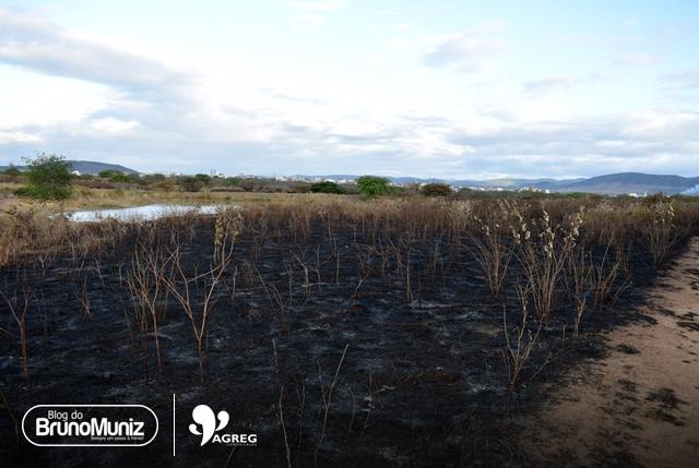 Incêndio provocou grande devastação em Santa Cruz do Capibaribe