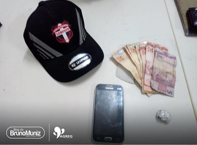 Policiais da Rocam do 24° BPM apreendem homem com carro usado em assalto em São Domingos