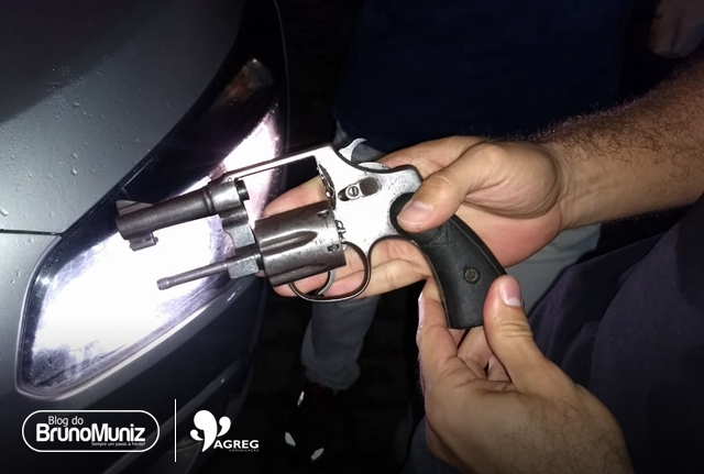 Vítima reage e toma arma de assaltante em Santa Cruz do Capibaribe
