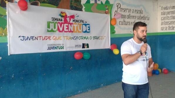 Kleiton Ferreira destaca apoio do COMDECA a 2ª Semana Municipal da Juventude