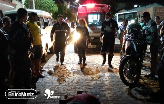 Indivíduo é baleado em Santa Cruz do Capibaribe