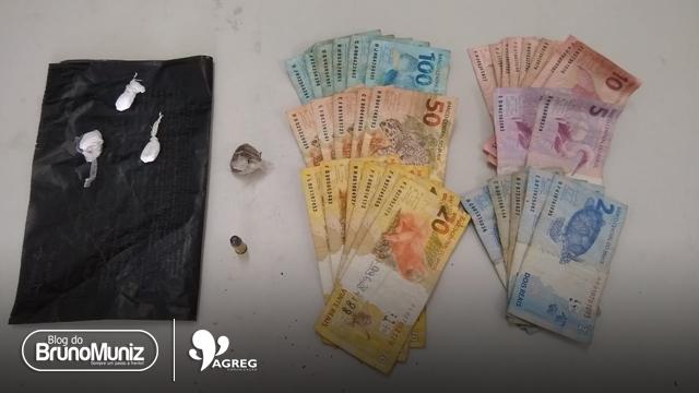 Jovem é detido por tráfico de drogas em Brejo da Madre de Deus