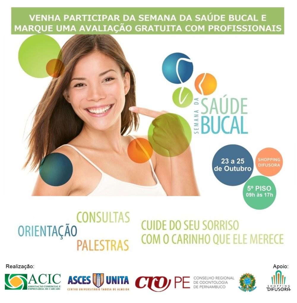 Caruaru recebe 7ª Semana da Saúde Bucal