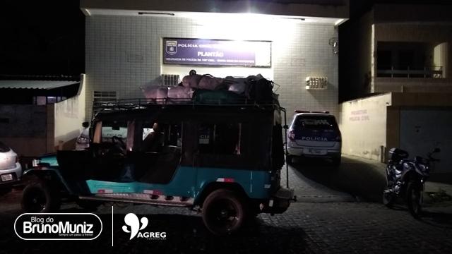 Sulanqueiros são assaltados na PE-160 em Santa Cruz do Capibaribe