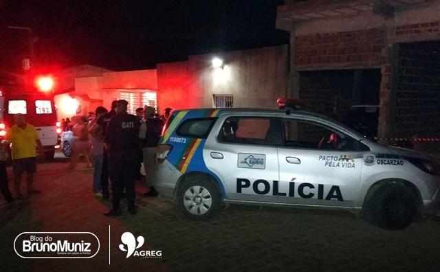 Jovem é morto a tiros em vila de Taquaritinga do Norte