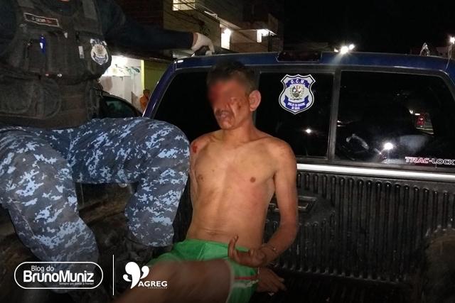 Acusado de estupro é espancando por populares em São Domingos, distrito de Brejo da Madre de Deus