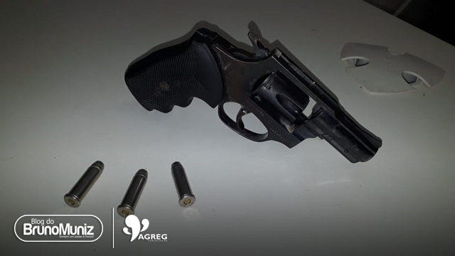 Arma de fogo é apreendida durante perseguição em Santa Cruz do Capibaribe
