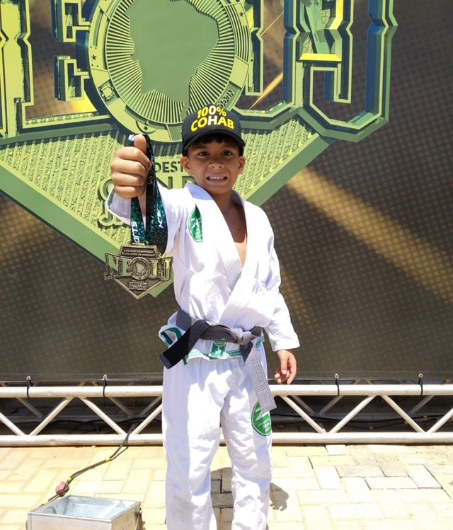 Jovem atleta de Santa Cruz do Capibaribe vence o Nordeste Open de Jiu-Jitsu
