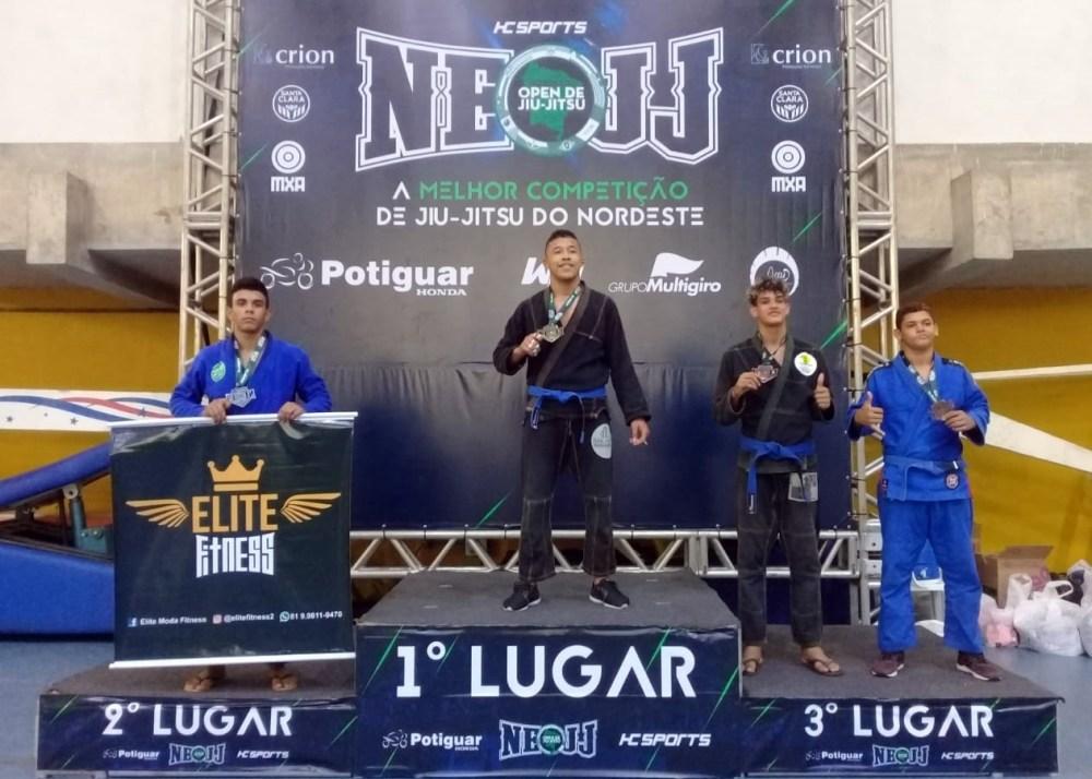 Santa-cruzense conquista importante medalha no Open Nordeste de Jiu-Jitsu