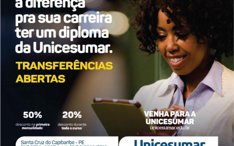 Transfira o seu curso para a UniCesumar