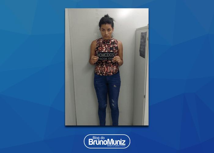 Mulher acusada de atirar contra vítima de assalto é presa em Santa Cruz do Capibaribe