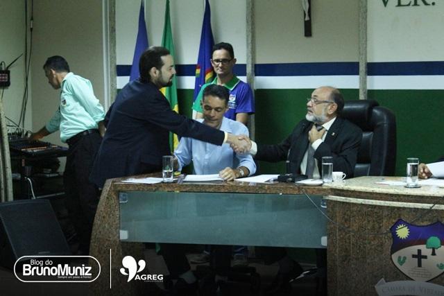 Diogo Moraes acompanha de perto a votação para escolha de novo presidente