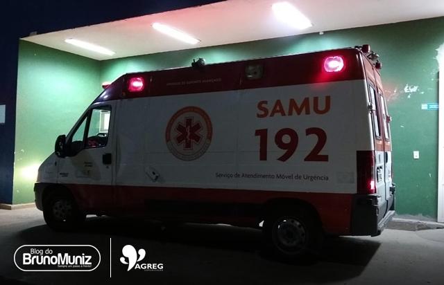 Homem fica ferido após acidente com motocicleta em Santa Cruz do Capibaribe