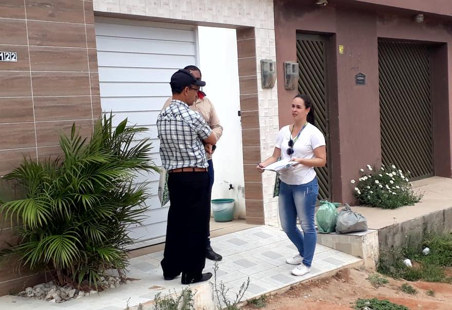 Compesa visita casas de Belo Jardim para implantação de redes de esgoto