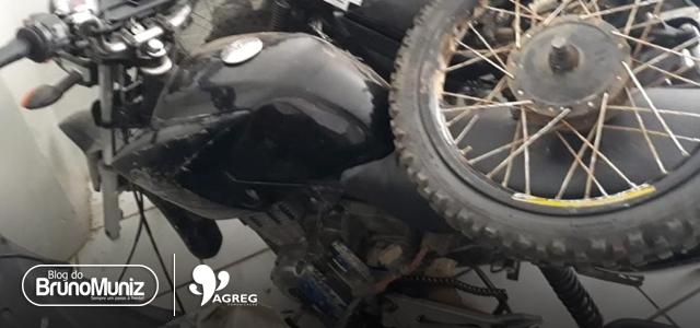 Menores são detidos com motocicleta roubada em São Domingos, distrito de Brejo da Madre de Deus
